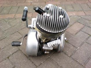 £395 · Villiers 9E 197cc engine/gearbox/carb /air filter