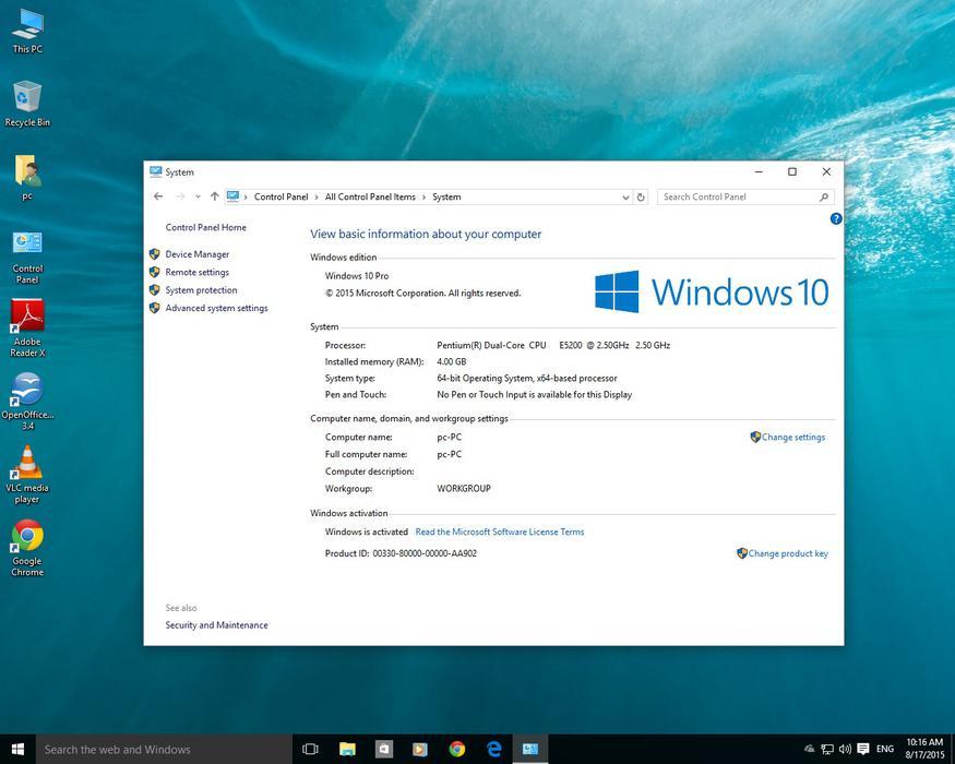 Bargain Custom Pc Windows 10 Dual Core 4gb Ram