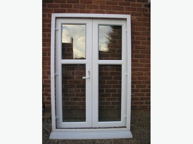 Upvc doors outside black country region wolverhampton for Used upvc patio doors