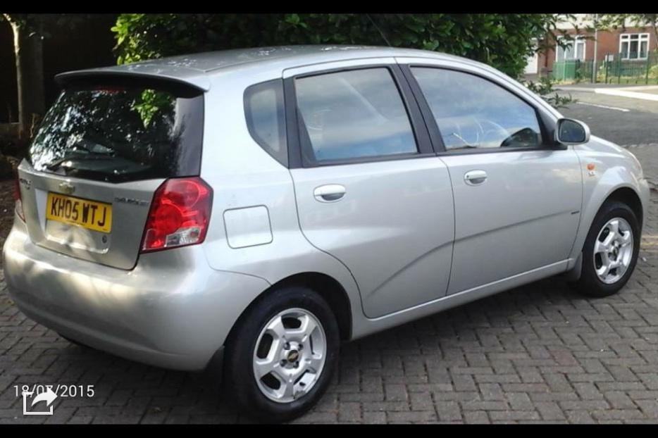 Chevrolet 2005 64000 Miles Only With A Recent Cambelt And