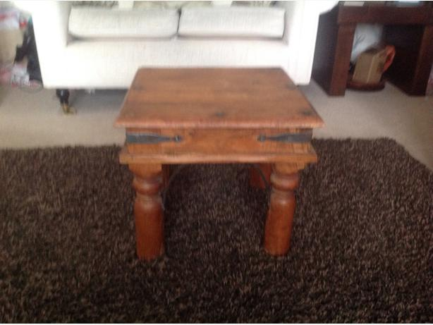 Jali Style Square Coffee Table Tipton Dudley