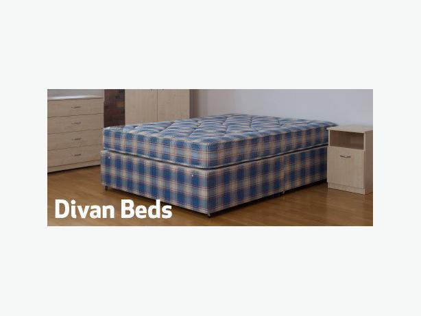 KINGSIZE QUALITY DIVAN BED