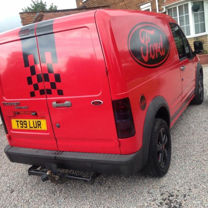 Used Ford Transit Connect In Widnes Cheshire: Transit Connect T200 SWB 1.8D