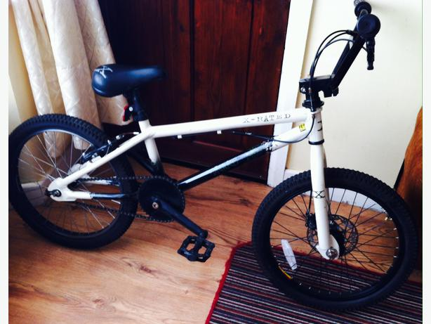 x-rated BMX snare good condition disc brake £30 Wednesbury