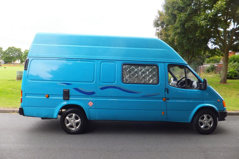 ford transit 2 5 diesel campervan w reg low mileage 3 berth dudley sandwell. Black Bedroom Furniture Sets. Home Design Ideas