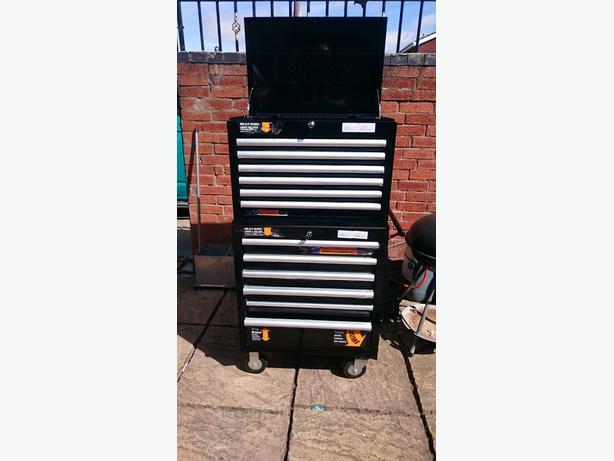 halfords industrial drawer ball bearing tool cabinet box. Black Bedroom Furniture Sets. Home Design Ideas