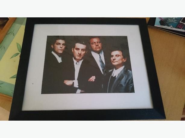 Goodfellas film framed picture