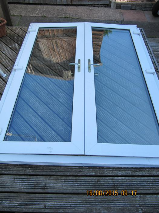 French Doors Upvc Used Outside Black Country Region Sandwell