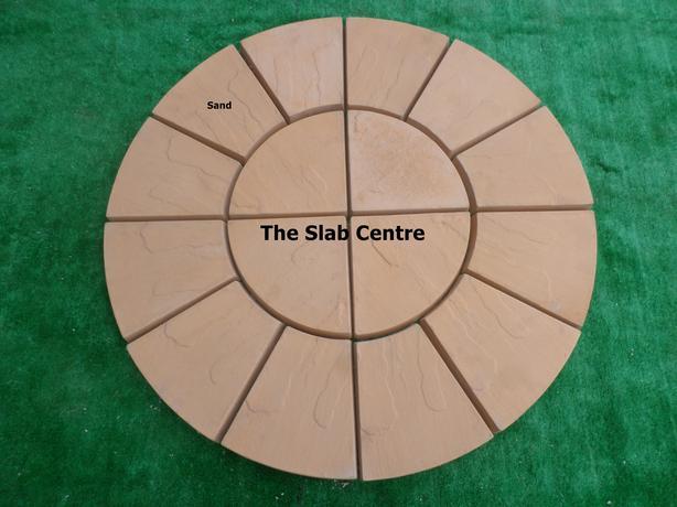 Sand Riven Rotunda Patio Circle **NEW** Approx 1m