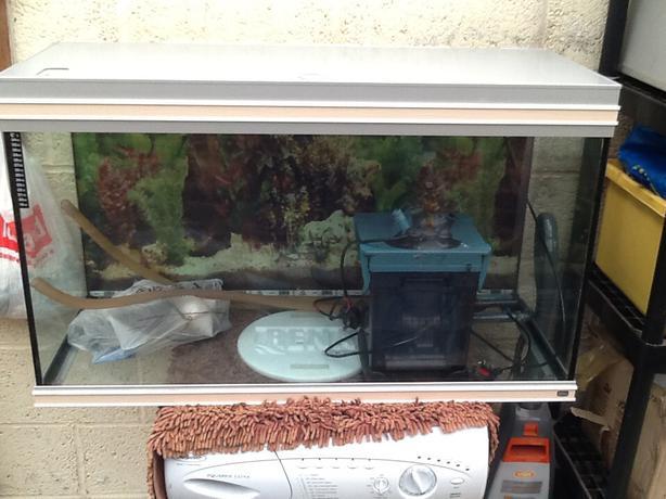 Rena 200l tropical fish tank aquarium with xp2 filter for Aquarium 200l