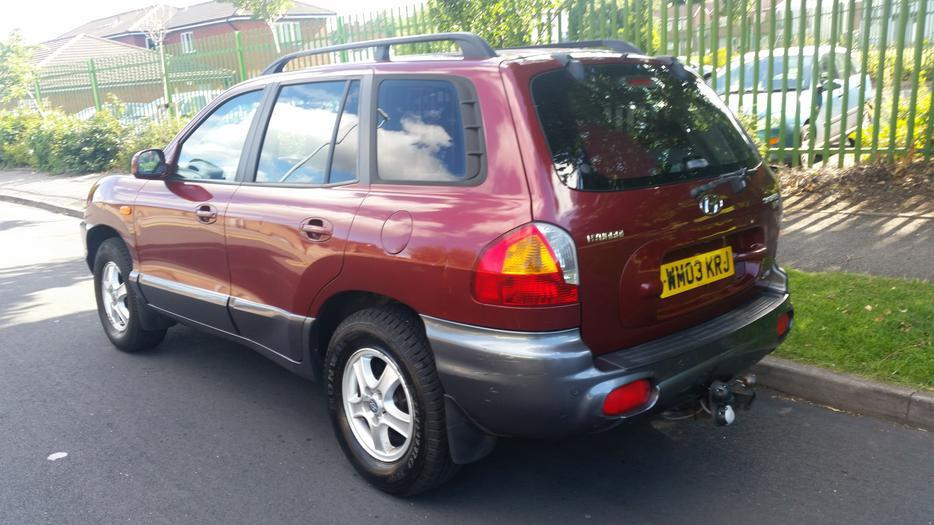 2003 hyundai santa fe 2 4 gas lpg converted 950 no offers walsall dudley. Black Bedroom Furniture Sets. Home Design Ideas