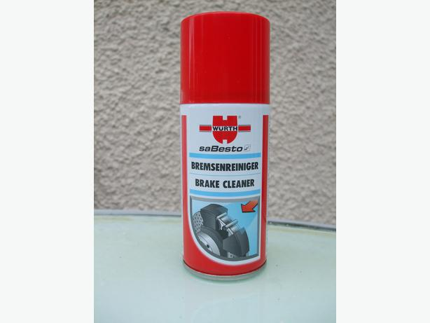 Tins of Wurth Brake Cleaner 150ml