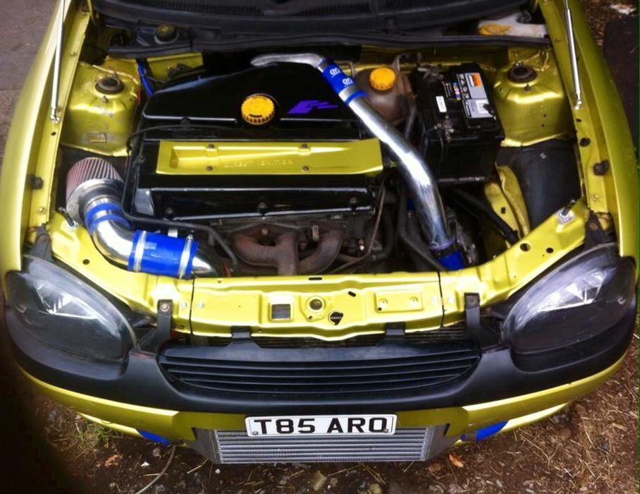 Corsa B Saab Turbo Conversion B204 Not C20let C20xe