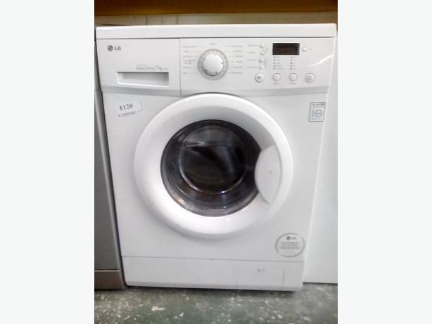 Lg direct drive washing machine with warranty at recyk for Direct drive motor washing machine