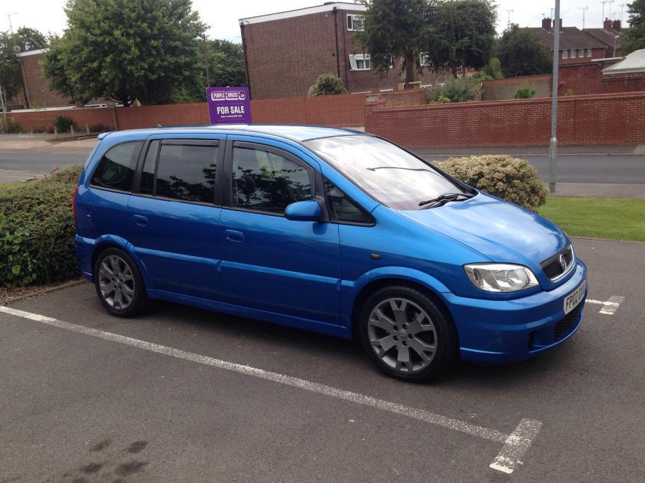 Vauxhall Zafira Gsi Arden Blue Swap Audi Tt Walsall