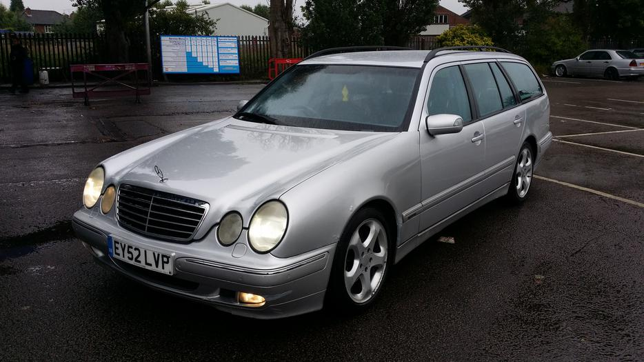 mercedes e320 cdi avantgarde auto estate 7 seater 2002 52 reg other black country location. Black Bedroom Furniture Sets. Home Design Ideas