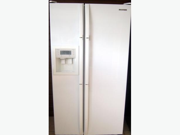 samsung american fridge freezer. samsung american style fridge freezer, water \u0026 ice dispenser, with warranty freezer t