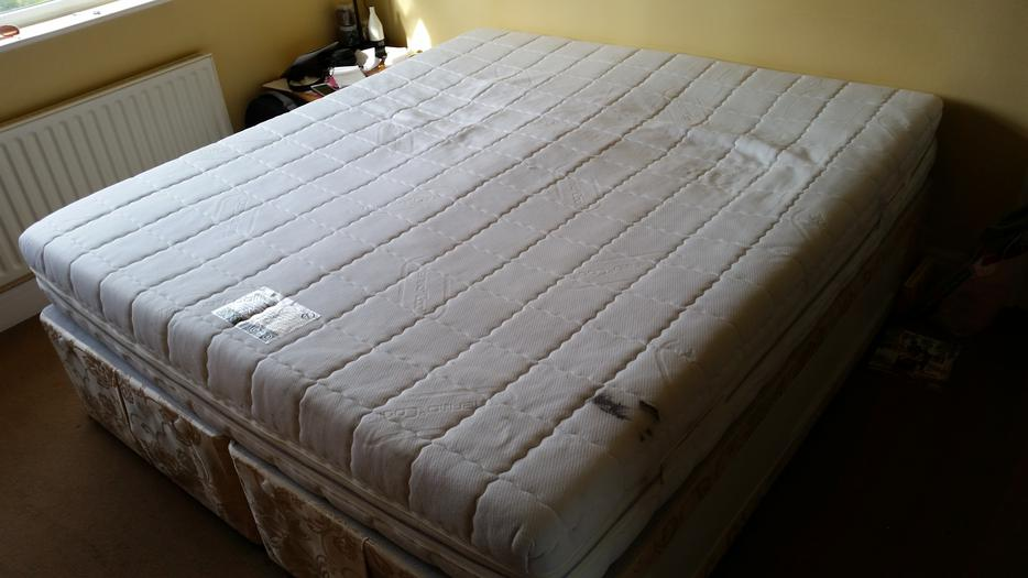 Double Super King Divan Bed With Memory Foam Mattress Wolverhampton Wolverhampton