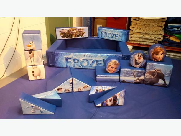 Frozen Soft Play / Bouncy Castle Hire Wolverhampton