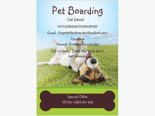 Dog Boarding Stourbridge Dudley