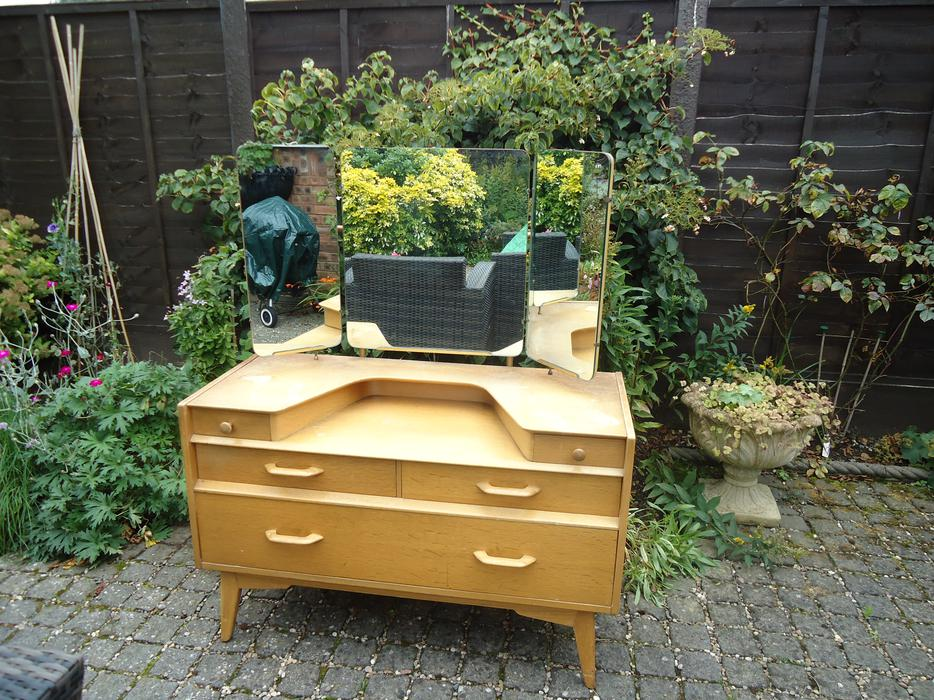 1960s G Plan Dressing Table And Mirror Wolverhampton Dudley