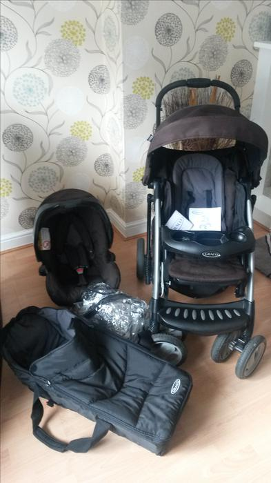 Graco Quattro 3 In 1 Travel System Dudley Wolverhampton
