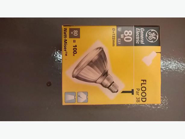 Par 38 lamp. 80w 240v  E27.