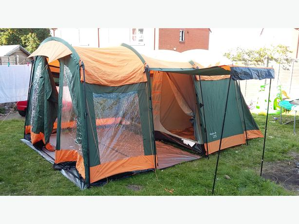 Regatta hydrafort 5 man tunnel tent & Regatta hydrafort 5 man tunnel tent DUDLEY Sandwell