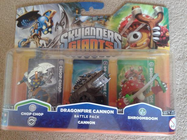 skylanders giants dragonfire cannon battle pack