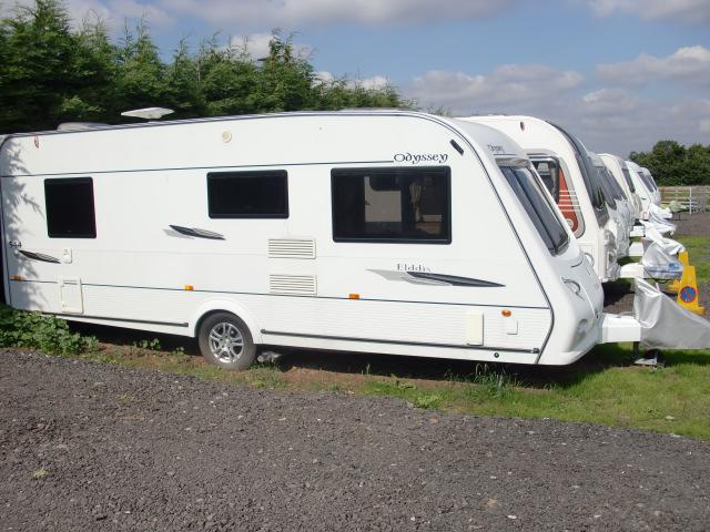 Elddis Odyssey 544 Fixed Bed 4 Berth Sold Subject To