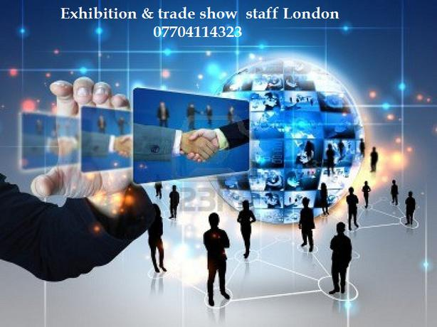 Best exhibition staff London, trade show staff London.