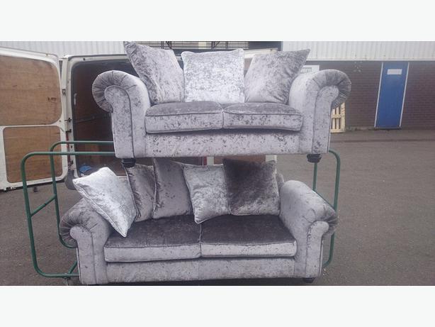 Silver Gray Velvet Sofa 1025theparty Com