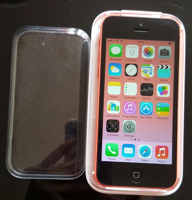 Apple Iphone 5c Ee Tmobile Orange Virgin Boxed