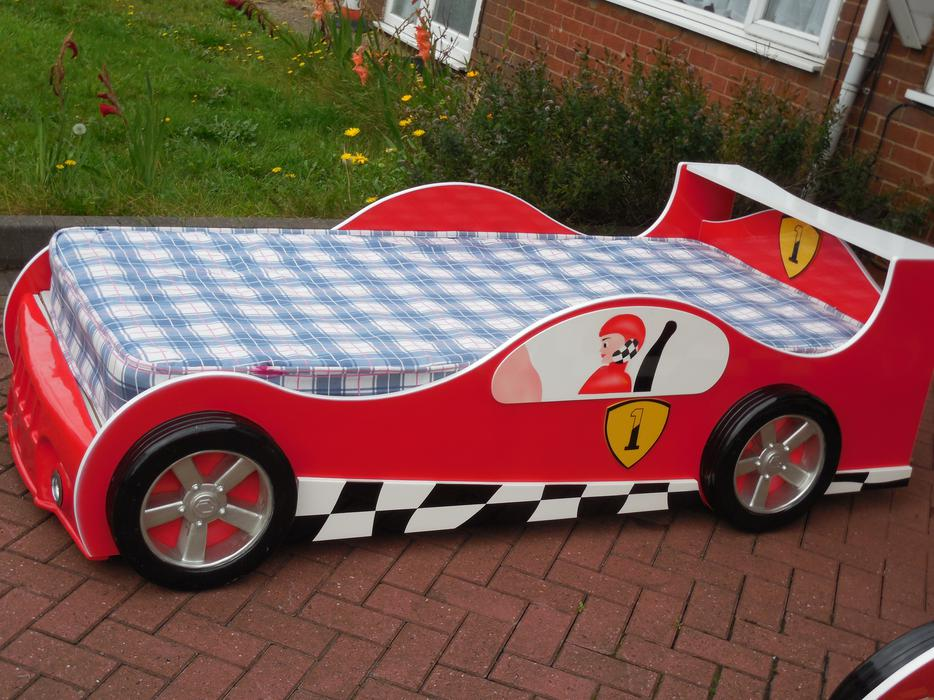 Red Ferrari Kids Bed For Sale Dudley Wolverhampton