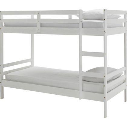 Ellery shorty bunk bed frame white bilston dudley for White bunk bed frame