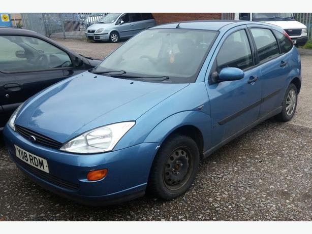 Ford Focus 1.6 Petrol Breaking Parts Engine Door Boot 1998-2004 Sapphire Blue