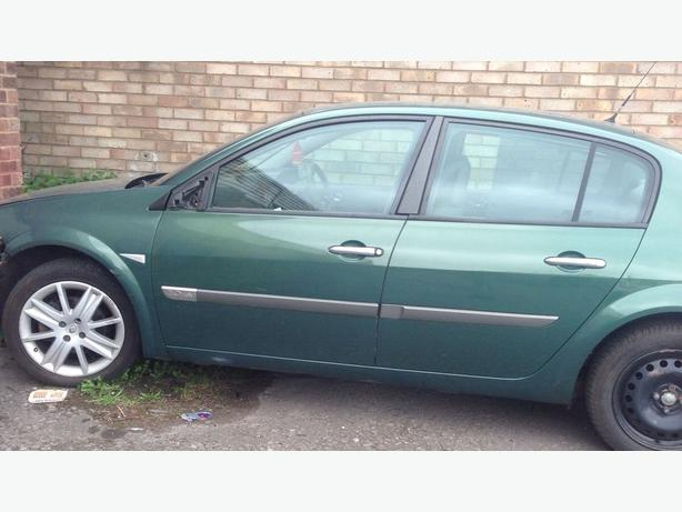 Renault Megane 2.0 Petrol Mkii Mk2 Breaking For Parts TED96 GREEN Engine Gearbox