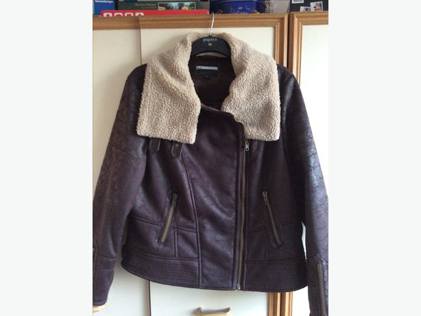 NEXT AVIATOR/BIKER JACKET SIZE 20