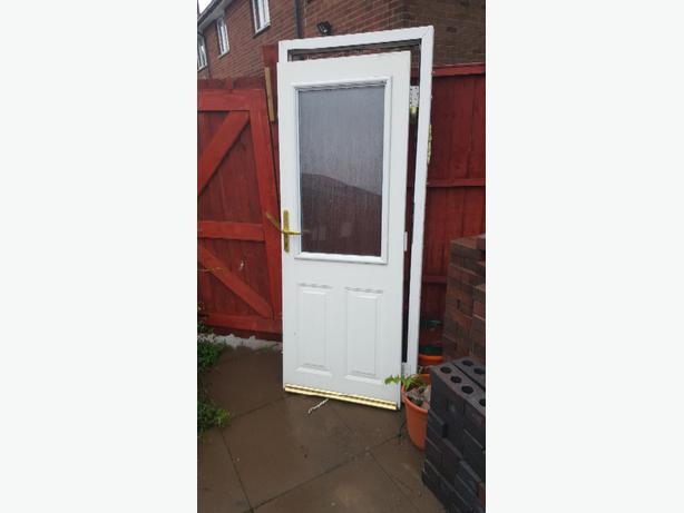 A used upvc door dudley wolverhampton for New upvc door and frame