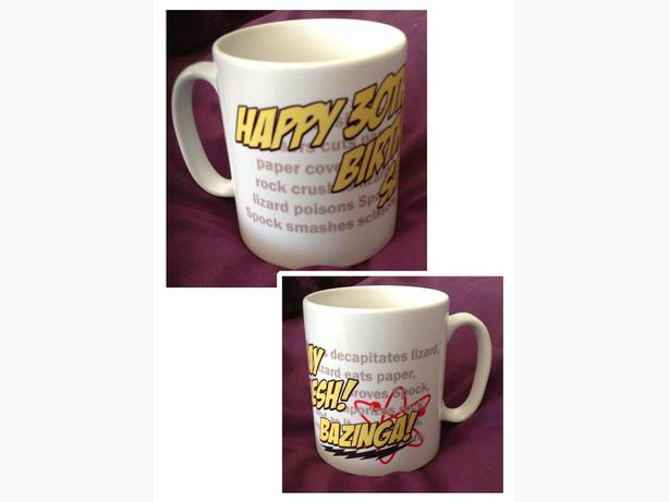 Personalised bespoke Photo/ Picture/ Text mugs