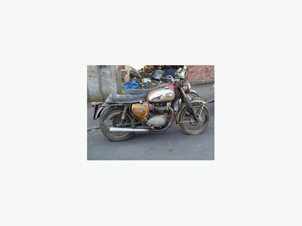 Old motorbikes and parts, private local collector