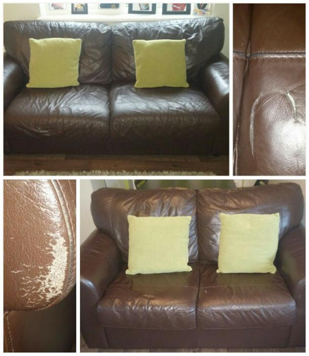 Sofa For Sale In Wolverhampton: Two Brown Leather Sofas WOLVERHAMPTON, Wolverhampton