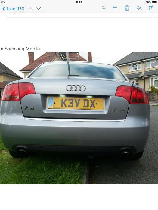 Audi A4 2 5 V6 Tdi 54plate Wolverhampton Wolverhampton