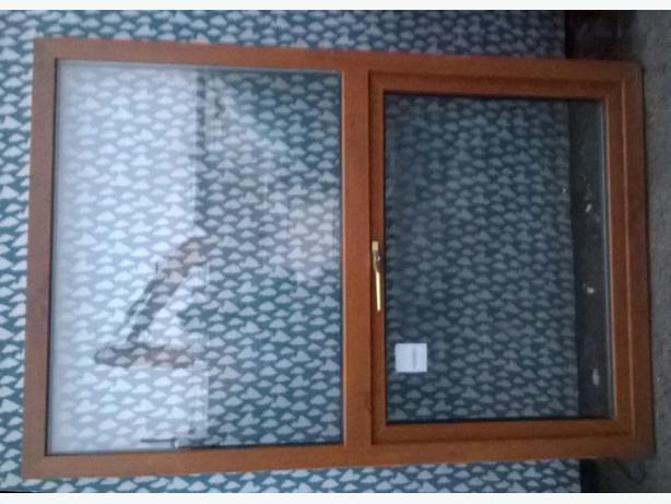 Wood Grain Upvc Windows : Wood grain upvc double glazed window bays £