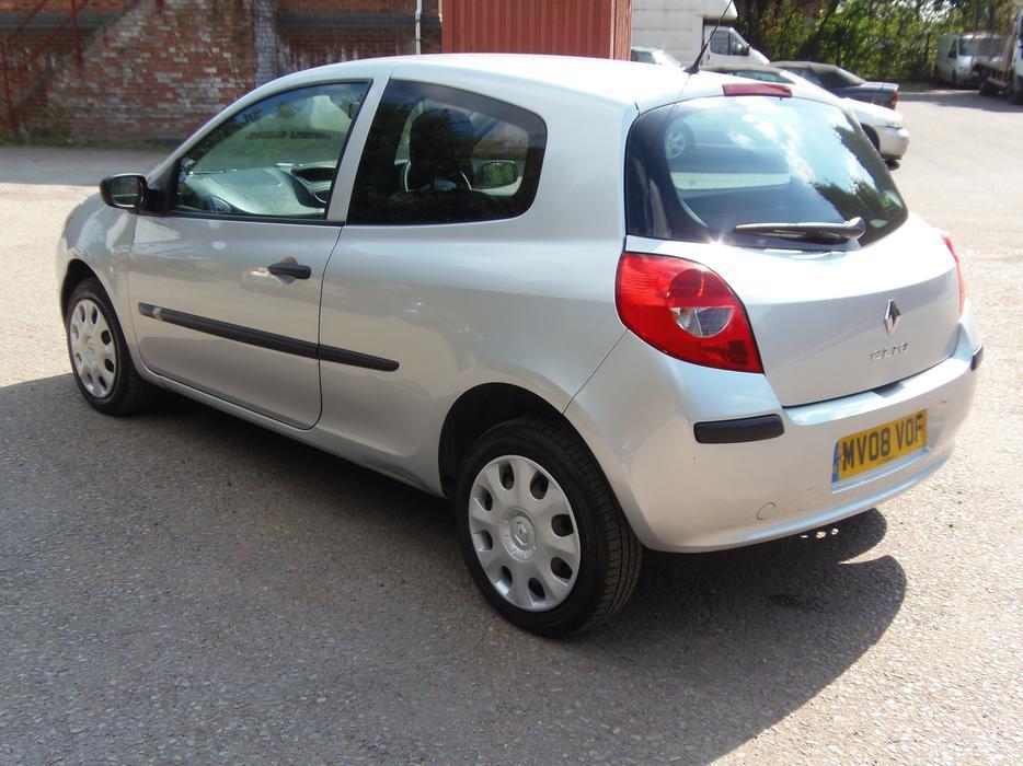 Renault Clio 1 2i Extreme 3 Door Hatchback 2008 12 Months