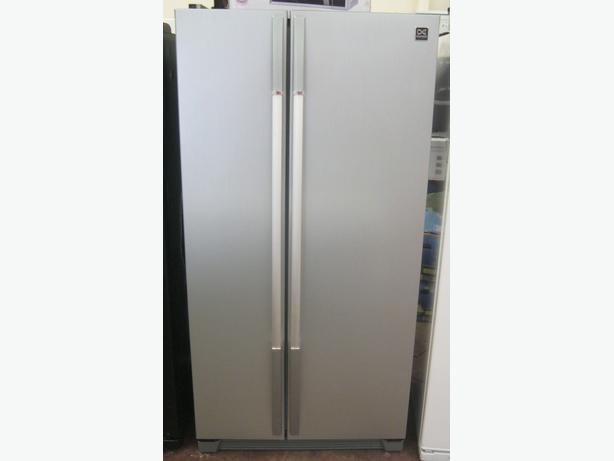 Daewoo Silver American Fridge Freezer FRSU20IAI with Warranty ...