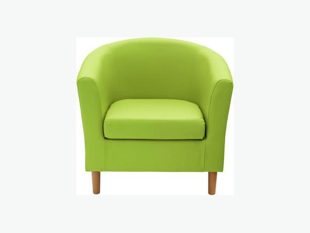 ColourMatch Fabric Tub Chair X 3 Apple Green Bilston Wolverhampton