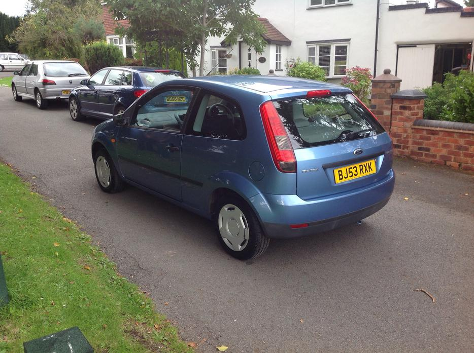 ford fiesta  finesse   miles