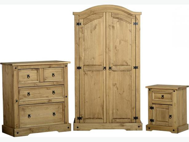 CORONA MEXICAN PINE BEDROOM SET  LOWEST PRICES GUARANTEED CHEAPER THAN INTERNET