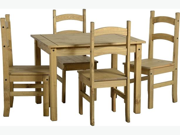 CORONA MEXICAN DINING TABLE SET LOWEST PRICES GUARANTEED CHEAPER THAN INTERNET